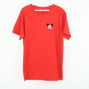 Jerzees Mens Medium Mickey Mouse Monogram Shirt